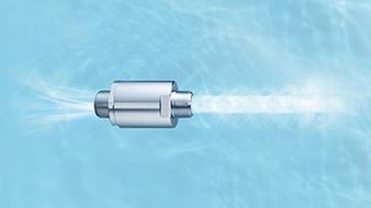 ウルトラファインバブル清潔な水を使用